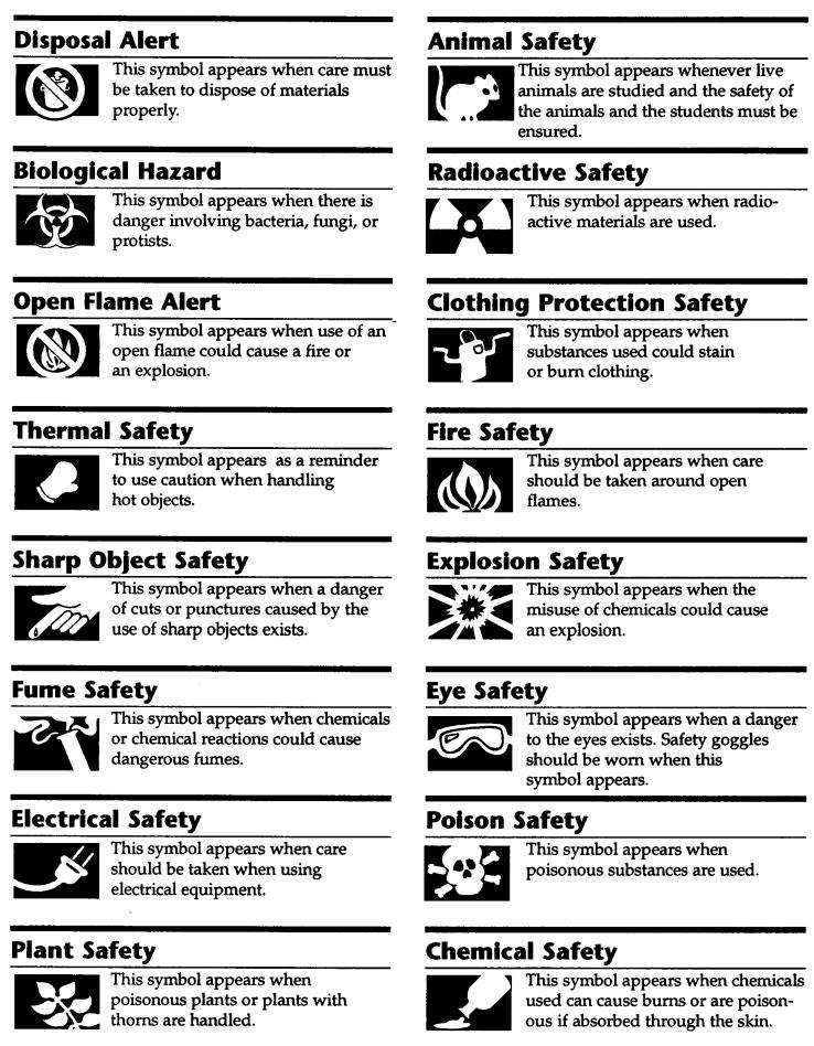 Worksheet Science Safety Symbols Worksheet 7th grade science mr messiers class safety symbols
